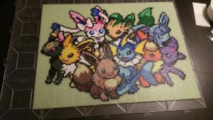 Pokemon! Eveelutions by PixelPerfect8