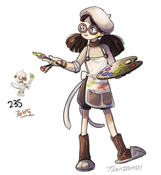 235.Smeargle by tamtamdi