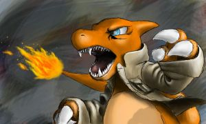 Andre The Charmeleon Attacks: Colored by Conker651