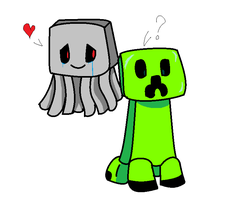 Creeper X Ghast Remake by MarshallTrap