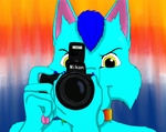 Smile for the Picture_Gift For Kodywulf by SolitaryGrayWolf