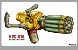 Rotary Plasma Cannon by wiledog