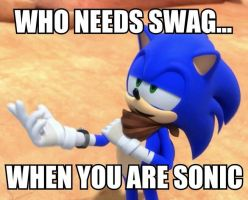 Sonic Boom Meme 4: Who needs swag? by xXCatieKaramukixX