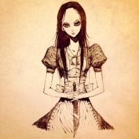 Alice Madness Returns by VioletCharlie