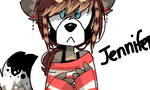 Jennifer the raccoon by SilverGoRawr83