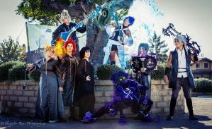 Kingdom Hearts Cosplay Group by Roxaoleen