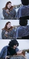 Oh, a spider! Save me, Jon Snow. by zeropuntosedici