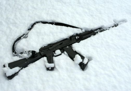AK-74M IN SNOW by 412thcadian
