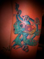 squirt tattoo by AngiePip