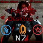 Mass Effect  DESKTOP Icons by Lost-in-Hogwarts