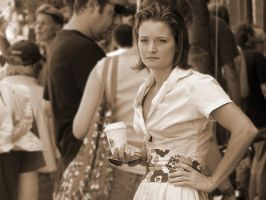 Southern Belle in Crowd by isha-1