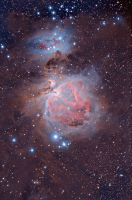 M42 - The Great Orion Nebula by ZeSly