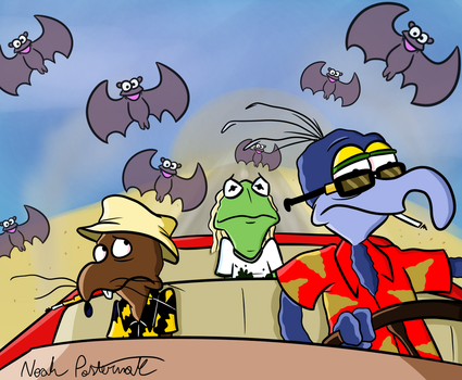 Dr. Gonzo by NoahTheCartoonist
