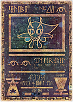 Ancient Celebi Card by icycatelf