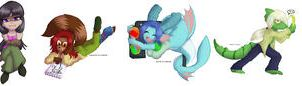 TEOR Character Stickers by avencri