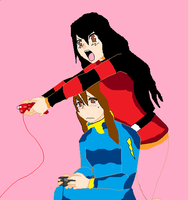 the Game an Naruto fight by Xuchihaanime