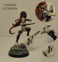 Vanessa Luthoria by FleshcraftKitBash