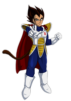 The King of All Saiyans by RigorM0RTIS