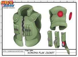 Konoha Flak Jacket by donaco