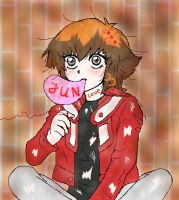 Judai cool rock by Lady-Married
