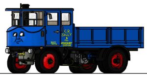 Guinevere the Steam Lorry by 01Salty