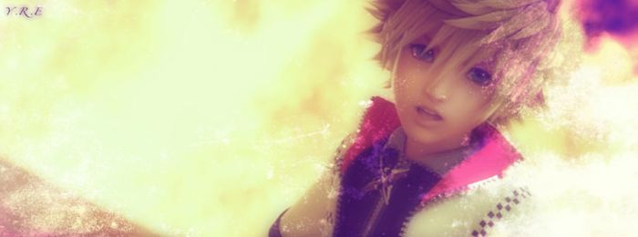 Roxas Flames by RoxasElricXIII