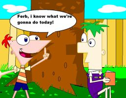 Phineas and Ferb by TaRtOoN-Man94