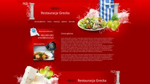 Website Lay Greek restaurant by eeb-pl