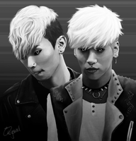 SHINee vampires don't sparkle by Okaysional
