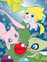 A pokemon Christmas... by Pjevsen