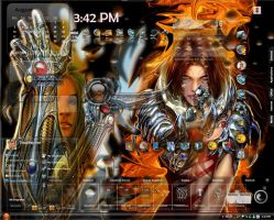 Witchblade and Mayhem by thuglifejunior