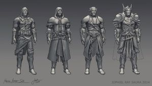 Heroic Armor Sets by JophielS