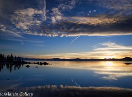 Lake Tahoe Sunset by MartinGollery