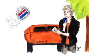 Netherlands mail box by Dutch-Loves-Tulips94