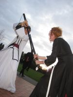 Aizen vs Ichigo Alcon Cosplay by F-Stormer-3000