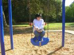 L on the Baby Swing by TheSapphireDragon1
