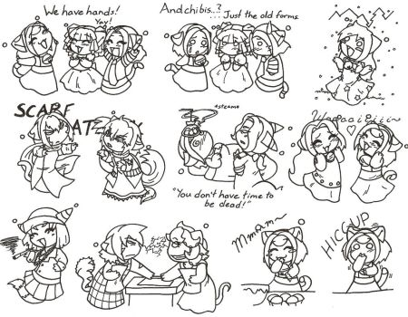 Lila's Doodles Pg 2 by MuseWhimsy