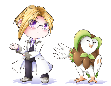 10/02/2017 Ford and Dartrix [CM] by kyddstatic