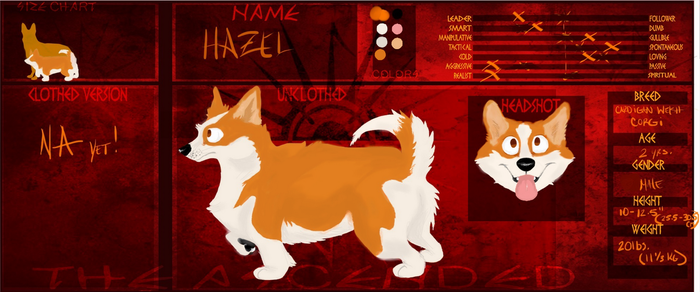 The Ascended Ref:: Hazel by MinaWolf10