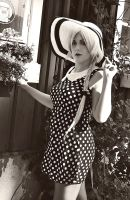 The Polka Dress by aggestardust