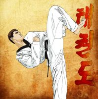 Tae Kwon Do by mouta-andre