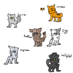 I know im a wolf - Hawkfrost and Ivypool by MasterPandas23