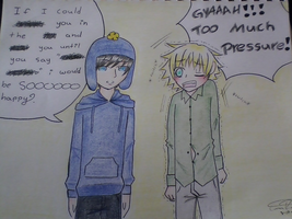 south park: Craig x Tweek by yuyafangirl