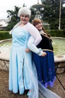 Frozen Sisters by Labyrinthinwyrm