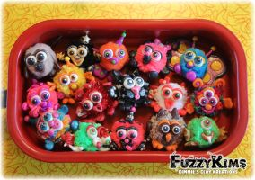 Polymer Clay Figurines Characters Sculptures by KIMMIESCLAYKREATIONS