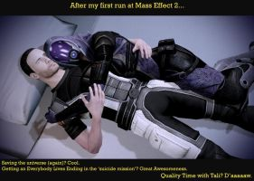 Mass Effect 2 Quality Time by Dhaem17