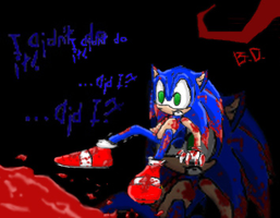 Sonic was a bad boy... by lunatic-splinter