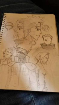 Naruto wallpaper v2 (Unfinished) by KCAC