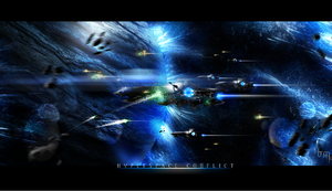 Hyperspace Conflict by NeroVII