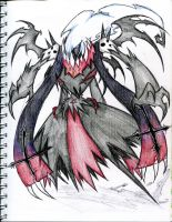 Darkrai new form by winddragon24